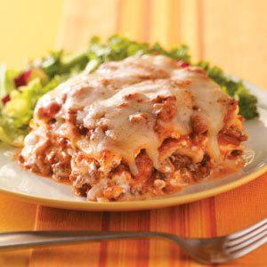 Creamy Onion Lasagna Recipe