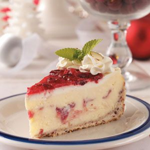 Cranberry Celebration Cheesecake Recipe