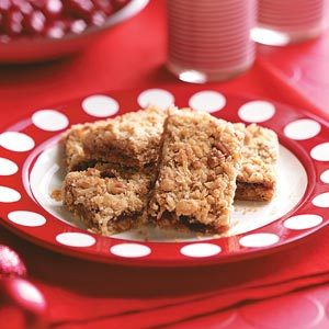 Orange-Cranberry Oat Bars Recipe