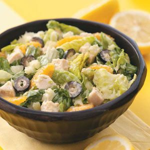 Caribbean Chicken Caesar Salad
