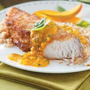 Coconut-Mango Mahi Mahi Recipe