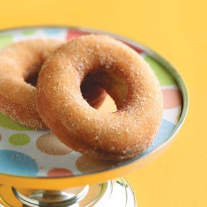 Old-Time Cake Doughnuts Recipe