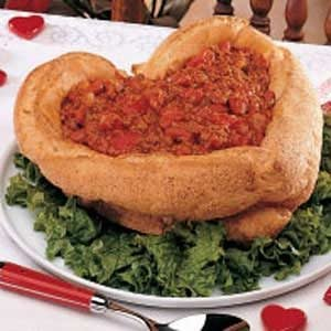 Chili in a Bread Bowl Recipe