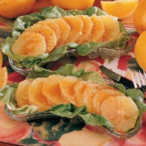 Orange Salad with Honey Dressing Recipe