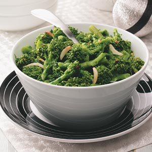 Spicy Garlic Broccoli Rabe Recipe