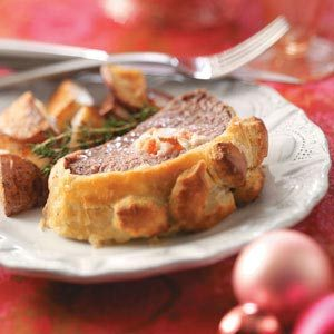 Lobster-Stuffed Beef Wellington Recipe