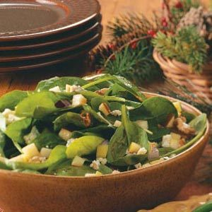 Lynn's Spinach & Apple Salad Recipe