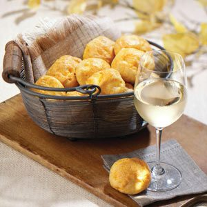 Nippy Cheese Puffs Recipe