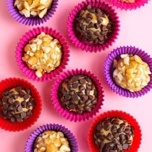 Easy Peanut Butter Truffles Recipe