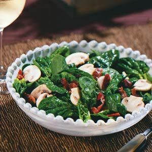Spinach Salad with Dijon Vinaigrette Recipe