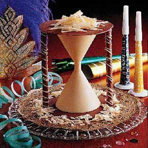 Chocolate New Year's Hourglass Recipe