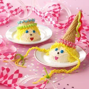 Prince and Princess Ice Cream Cones Recipe