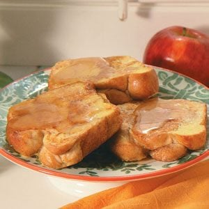 Cinnamon Marble Loaf French Toast Recipe