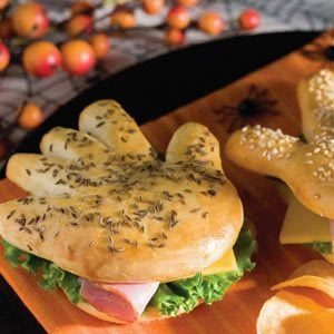 Halloween Handwiches Recipe