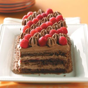 Contest-Winning Raspberry Chocolate Torte Recipe