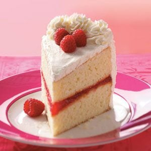 White Chocolate Raspberry Torte Recipe