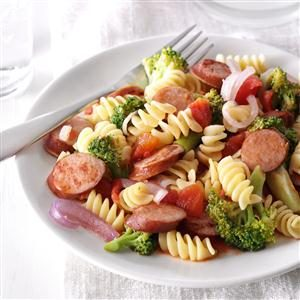 Sausage Broccoli Simmer Recipe
