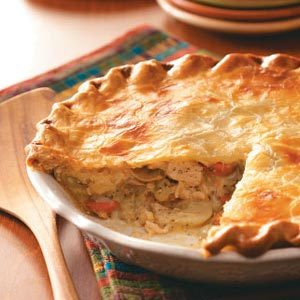 Creamy Chicken Potpie Recipe