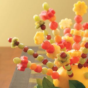 Fresh Fruit Centerpiece Recipe