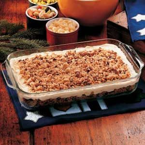 Toasted Pecan Pudding Recipe