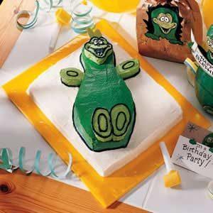 Dinosaur Party Cake Recipe