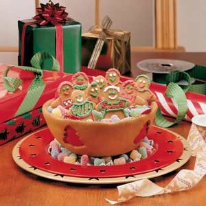 Christmas Cookie Bowl Recipe