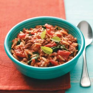 Saucy Italian Orzo Recipe