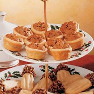 Party Pecan Pies Recipe