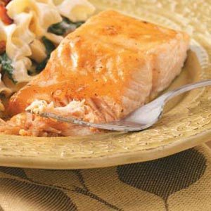 Quick Glazed Salmon Recipe