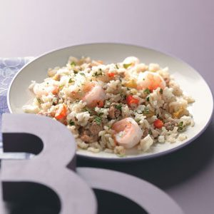 Spicy Chorizo & Shrimp Rice For 2 Recipe