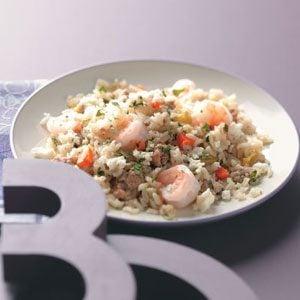 Spicy Chorizo & Shrimp Rice For 2 Recipe