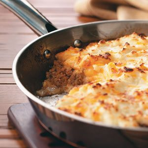 Skillet Shepherd's Pie For 2 Recipe