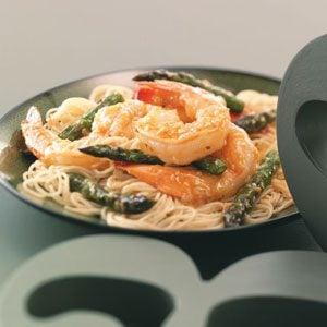 Glazed Shrimp & Asparagus For 2 Recipe