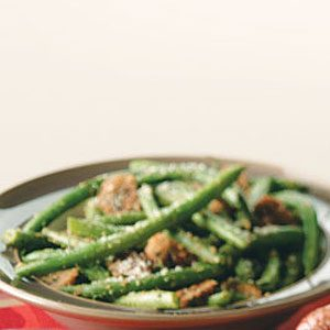 Julia's Green Beans & Mushrooms Recipe
