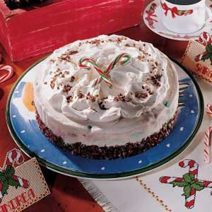 Peppermint Ice Cream Cake Recipe