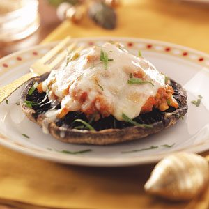 Portobello Pizzas Recipe