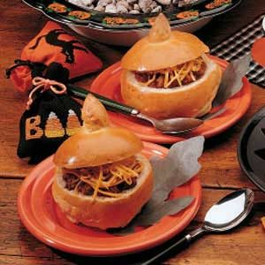 Pumpkin Bread Bowls Recipe