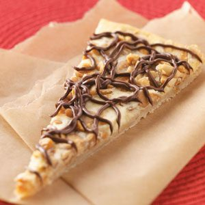 Peanut Butter Cheesecake Pizza Recipe