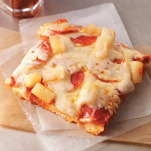 Kickin' Hawaiian Pizza Recipe