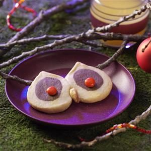 Owl Eyes Cookies Recipe