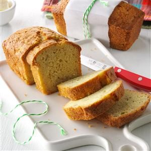 Autumn Pear Bread