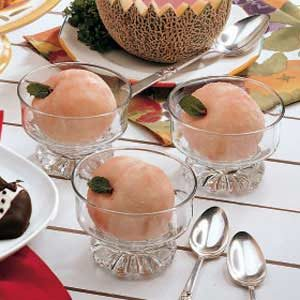 Ice Cream Peaches