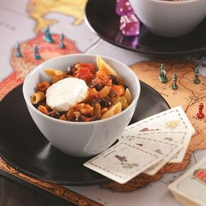 Turkey Chili with Penne Recipe