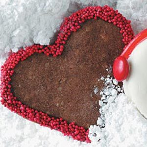 Festive Chocolate Hearts Recipe