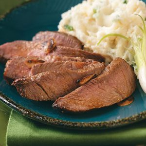 Whiskey Sirloin Steak