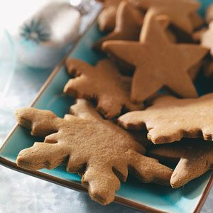Gingerbread Crisp Cutouts