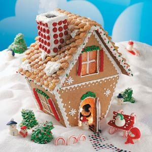 Winter Wonderland Gingerbread Cottage
