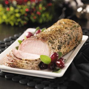 Herb-Rubbed Pork Loin Recipe