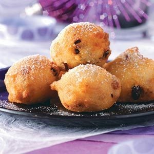 Buttermilk Berry Fritters Recipe