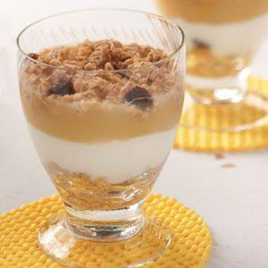 Apple Yogurt Parfaits for Two Recipe
